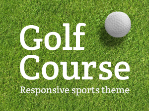 Golf Course theme for Wordpress
